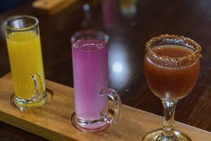 Welcome cocktails at Nayara Springs Resort