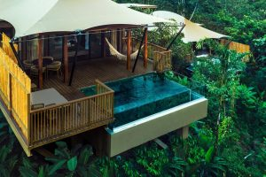 Nayara Resort's newest addition -- Tented Safari Camp (Great for families!)