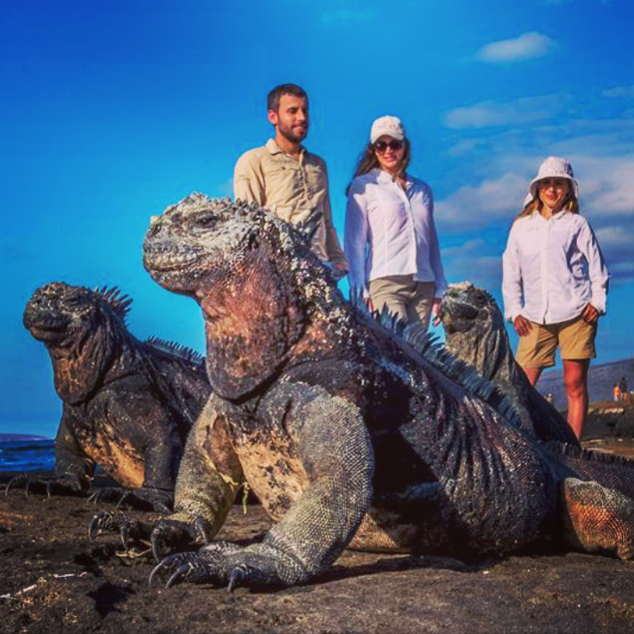 Get Up and Go to Galapagos